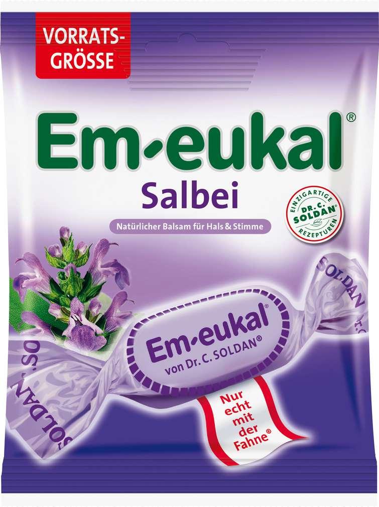 Abbildung des Sortimentsartikels Em-eukal Salbei 150g