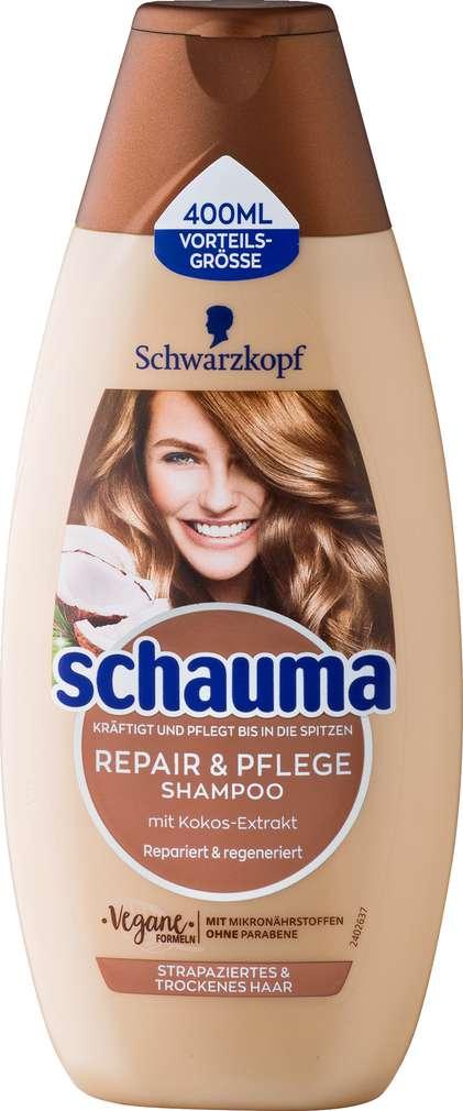 Abbildung des Sortimentsartikels Schwarzkopf Schauma Shampoo Repair & Pflege 400ml