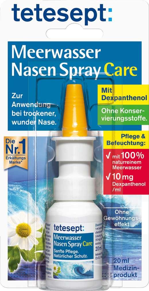 Abbildung des Sortimentsartikels Tetesept Nasen-Spray mit Meerwasser 20ml