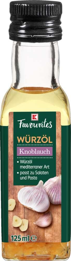 Abbildung des Sortimentsartikels K-Favourites Würzöl Knoblauch 125ml