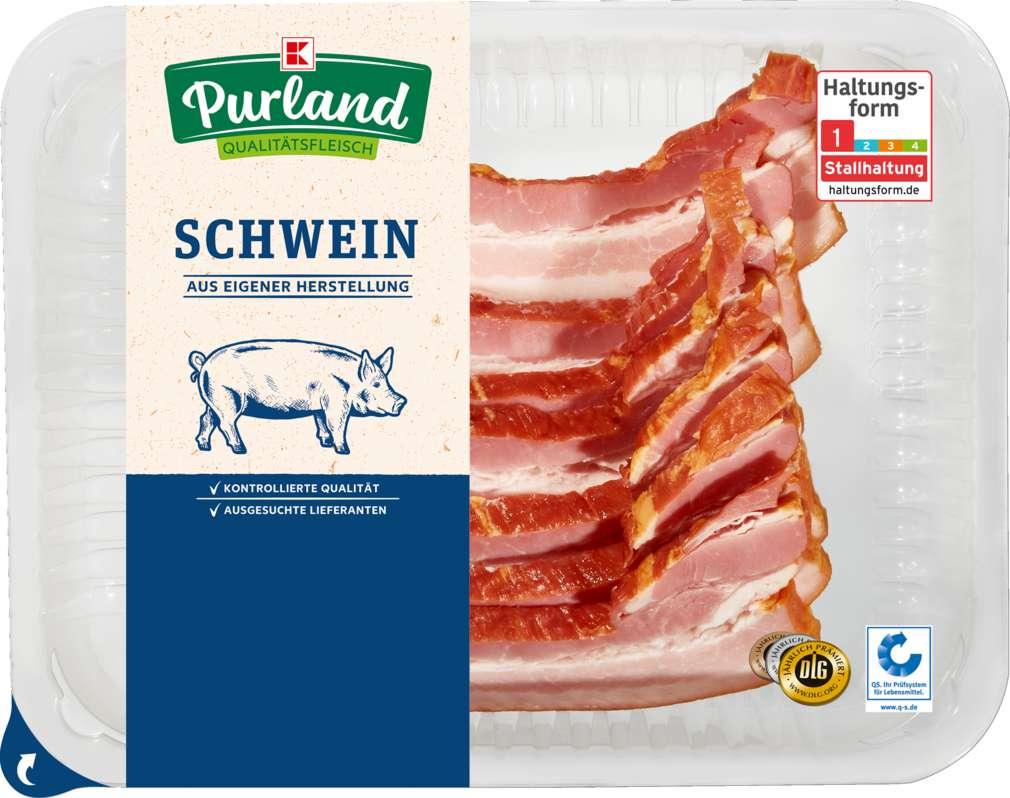 Abbildung des Sortimentsartikels K-Purland Kasseler Minutenbauch vom Schwein