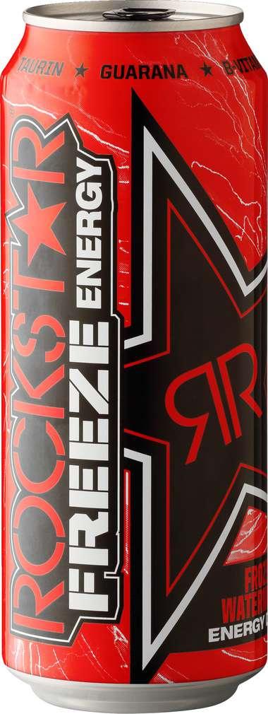 Abbildung des Sortimentsartikels Rockstar Freeze Energy Drink Frozen Watermelon 0,5l