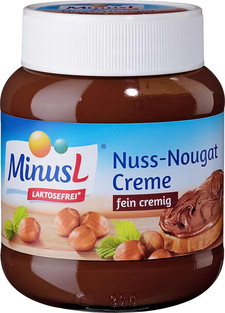 Abbildung des Sortimentsartikels MinusL Nuss-Nougat Creme 400g