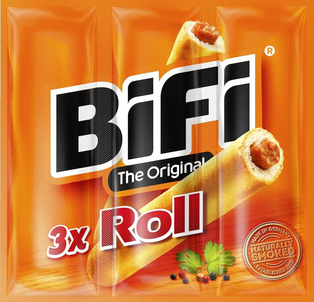 Abbildung des Sortimentsartikels Bifi Roll 3x50g