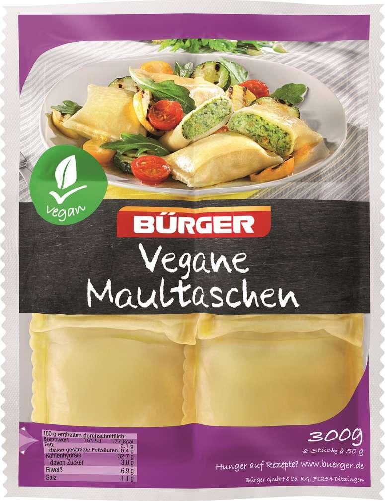 Abbildung des Sortimentsartikels Bürger Maultaschen vegan 300g