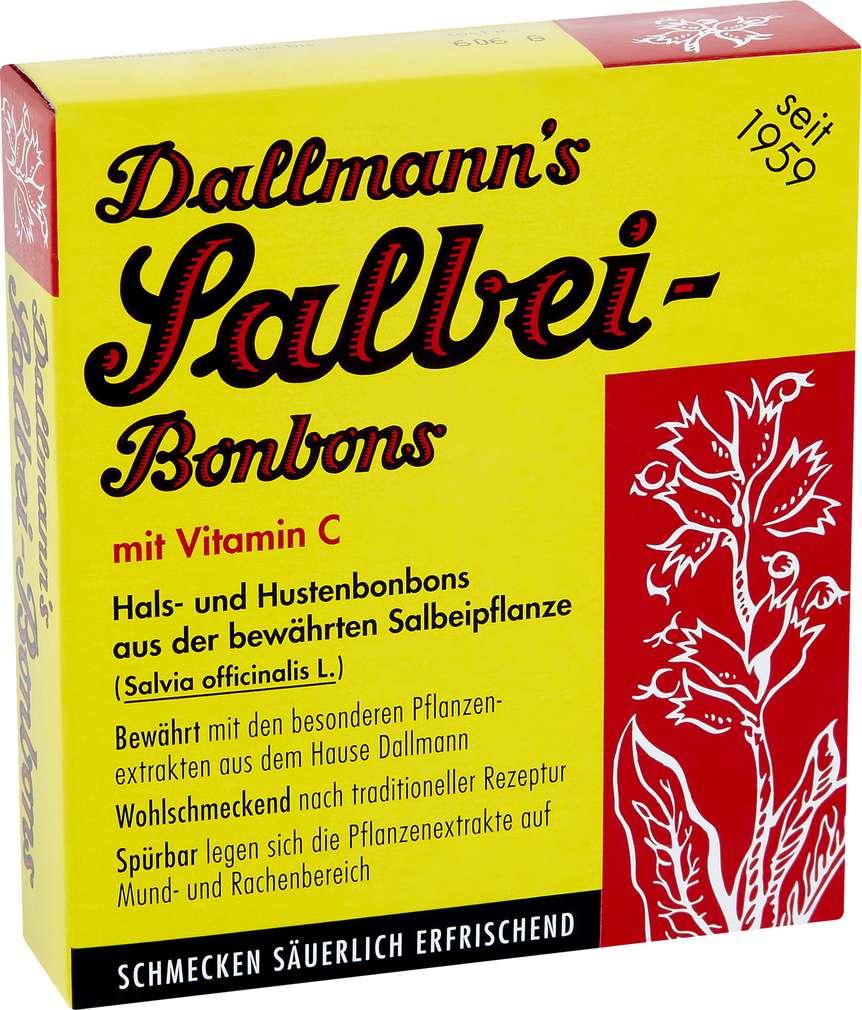 Abbildung des Sortimentsartikels Dallmann´s Salbei-Bonbons 20 Stück