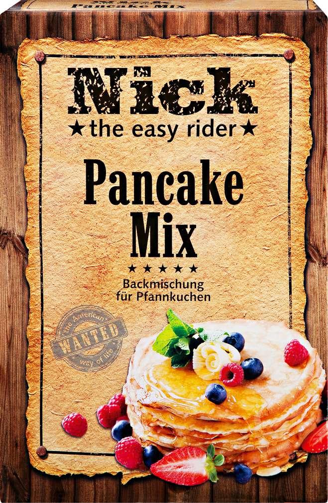 Abbildung des Sortimentsartikels Nick the easy rider Pancake Mix 400g