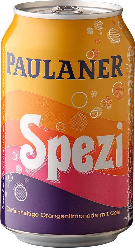 Abbildung des Sortimentsartikels Paulaner Spezi 0,33l