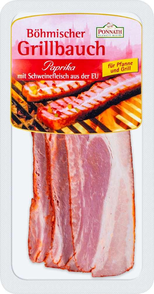 Abbildung des Sortimentsartikels Ponnath Böhmischer Grillbauch Paprika 200g