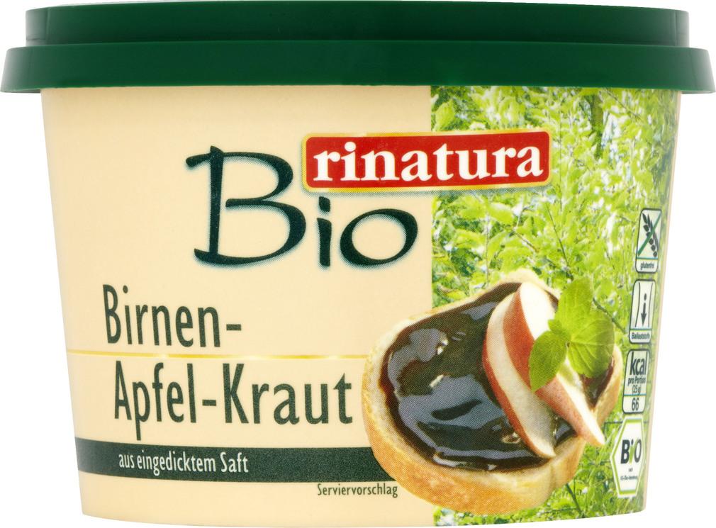 Abbildung des Sortimentsartikels Rinatura Birnen-Apfel-Kraut 250g