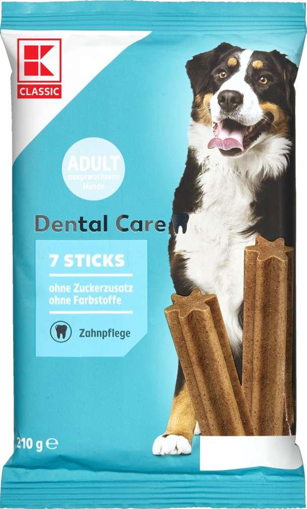 Abbildung des Sortimentsartikels K-Classic Hundesnack Dental Sticks 7x30g