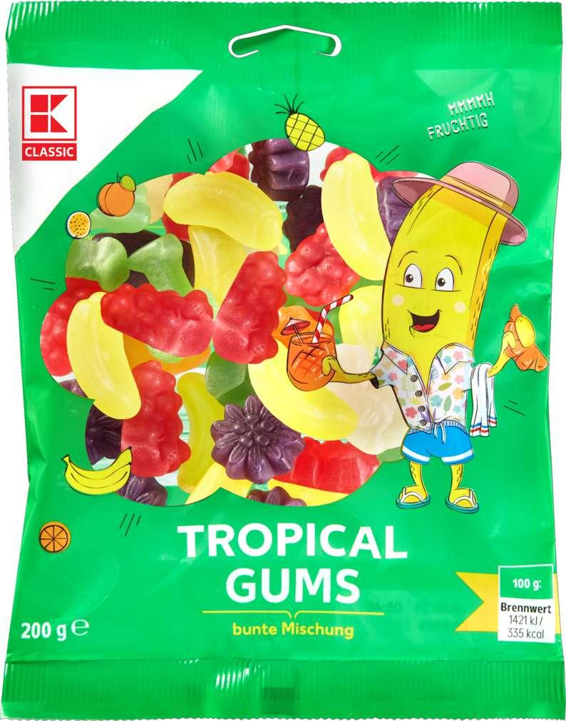 Abbildung des Sortimentsartikels K-Classic Tropical Gums Fruchtgummi 200g
