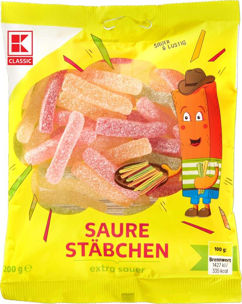 Abbildung des Sortimentsartikels K-Classic Saure Fruchtgummi 200g