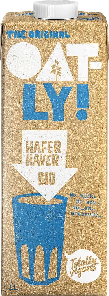 Abbildung des Sortimentsartikels Oatly Bio Haferdrink Classic lf 1,0l