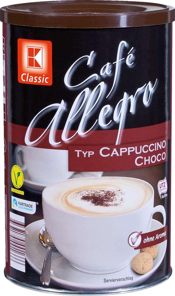 Abbildung des Sortimentsartikels K-Classic Café Allegro Typ Cappuccino Choco 500g