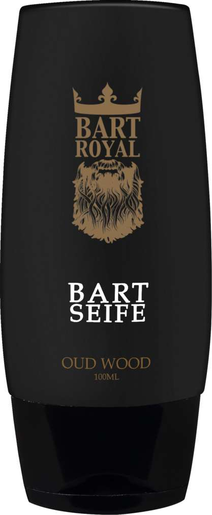 Abbildung des Sortimentsartikels Bart Royal Bartseife Oud Wood 100ml