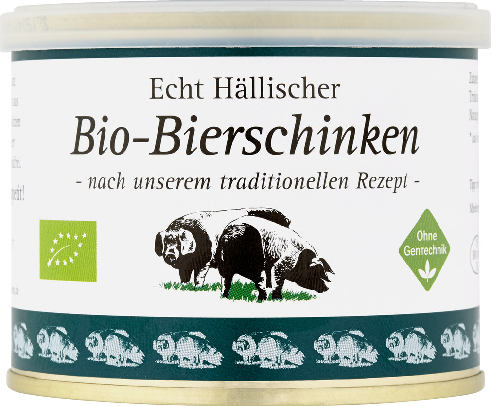 Abbildung des Sortimentsartikels BESH Echt Hällischer Bio-Bierschinken 200g