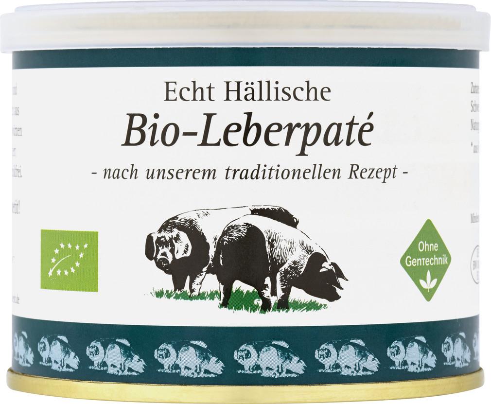 Abbildung des Sortimentsartikels BESH Echt Hällische Bio-Leberpaté 200g