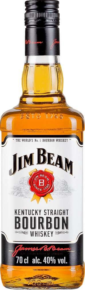 Abbildung des Sortimentsartikels Jim Beam Bourbon 40%-Vol. 0,7l