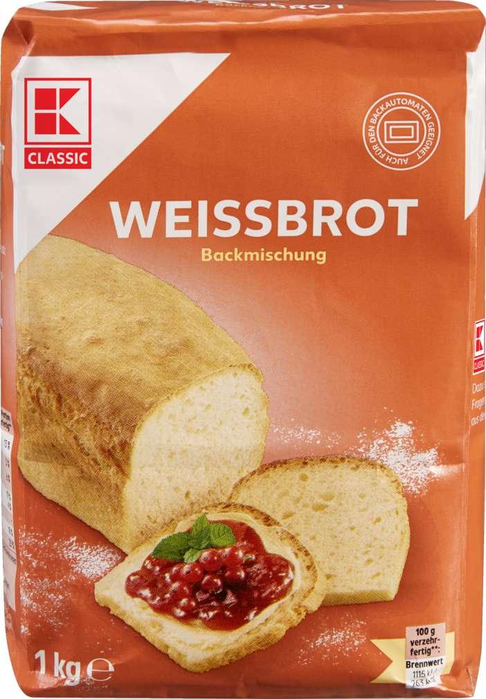 Abbildung des Sortimentsartikels K-Classic Brotbackmischung Weißbrot 1kg