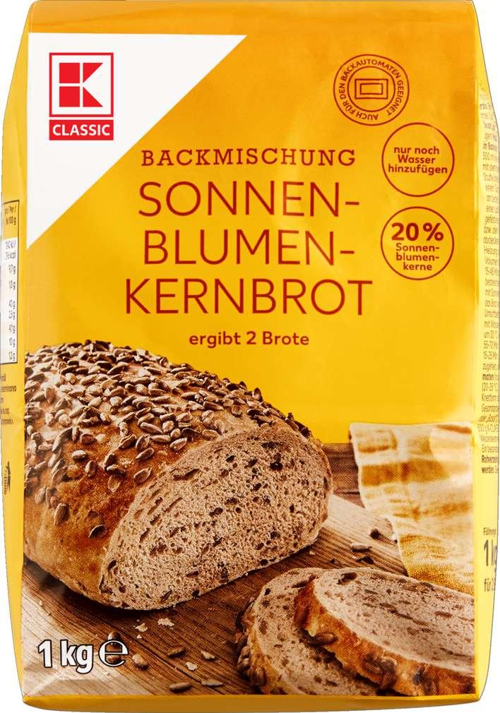 Abbildung des Sortimentsartikels K-Classic Brotbackmischung Sonnenblumenbrot 1kg