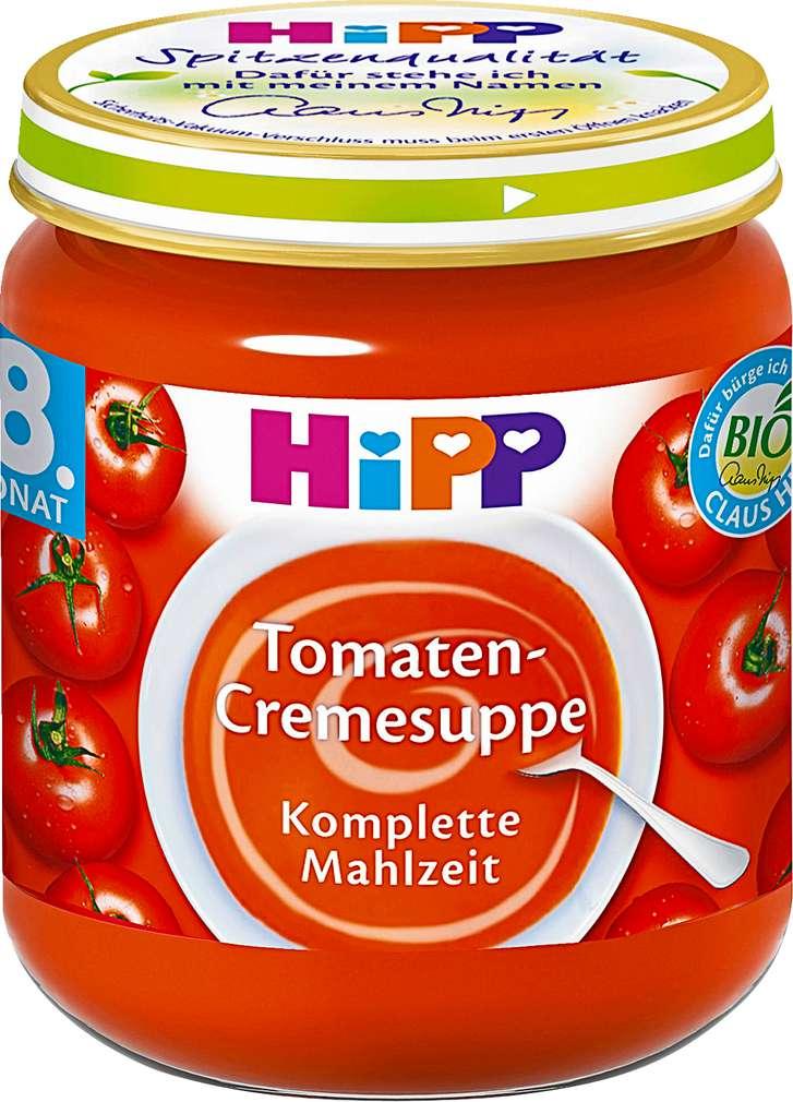 Abbildung des Sortimentsartikels Hipp Tomaten-Cremesuppe 200g