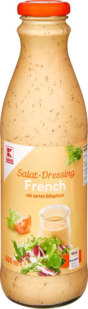 Abbildung des Sortimentsartikels K-Classic Salatdressing French 500ml