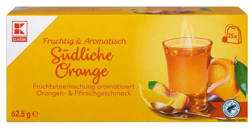 Abbildung des Sortimentsartikels K-Classic Früchtetee Südliche Orange 25x2,5g