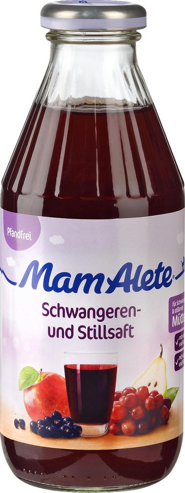 Abbildung des Sortimentsartikels Alete MamAlete Schwangeren- und Stillsaft 0,5l