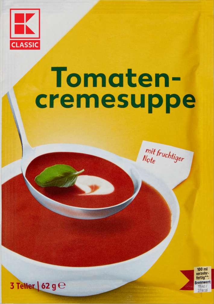 Abbildung des Sortimentsartikels K-Classic Tomatencremesuppe 62g
