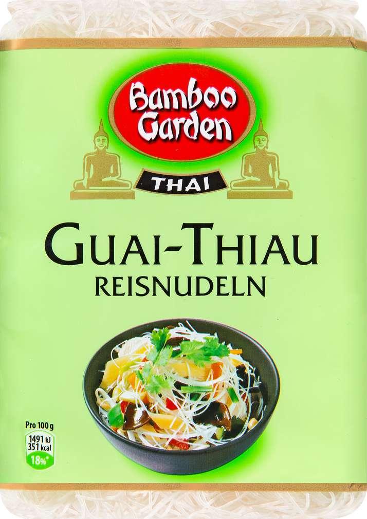 Abbildung des Sortimentsartikels Bamboo Garden Thai Guai-Thiau Reisnudeln 250g