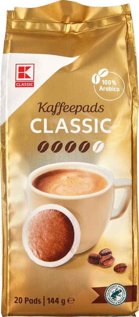 Abbildung des Sortimentsartikels K-Classic Kaffeepads Classic 144g