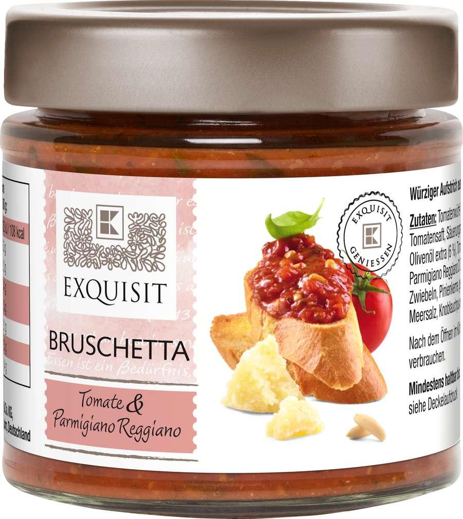 Abbildung des Sortimentsartikels Exquisit Bruschetta 190g