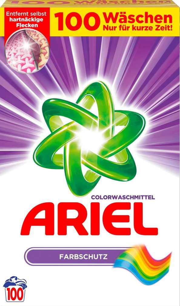 Abbildung des Sortimentsartikels Ariel Colorwaschmittel 100WL=6,5kg
