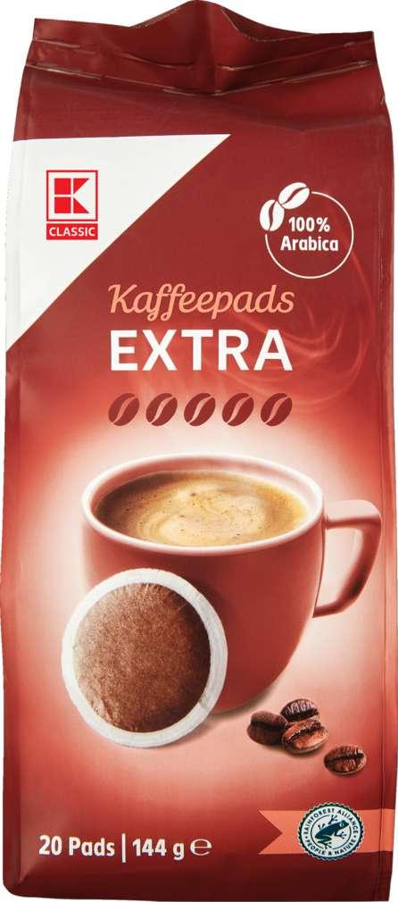 Abbildung des Sortimentsartikels K-Classic Kaffeepads Extra 144g