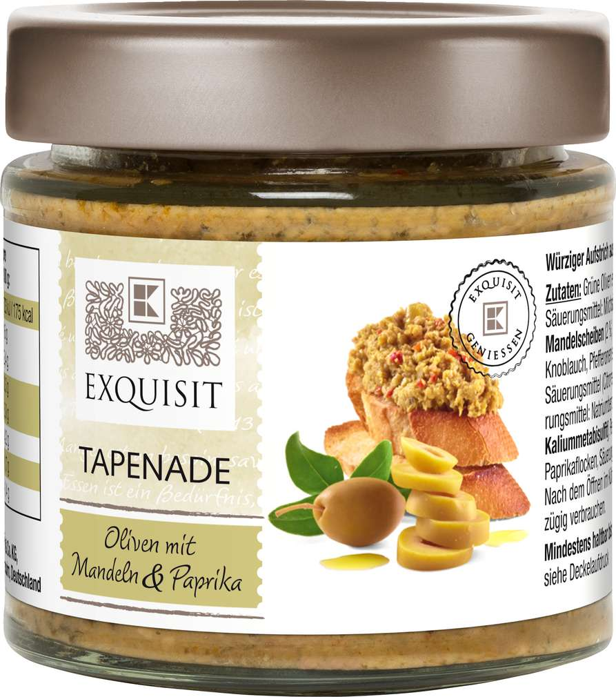Abbildung des Sortimentsartikels Exquisit Oliventapenade 190g
