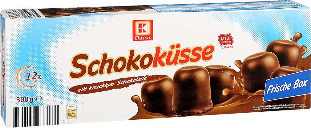 Abbildung des Sortimentsartikels K-Classic Schokoküsse 300g