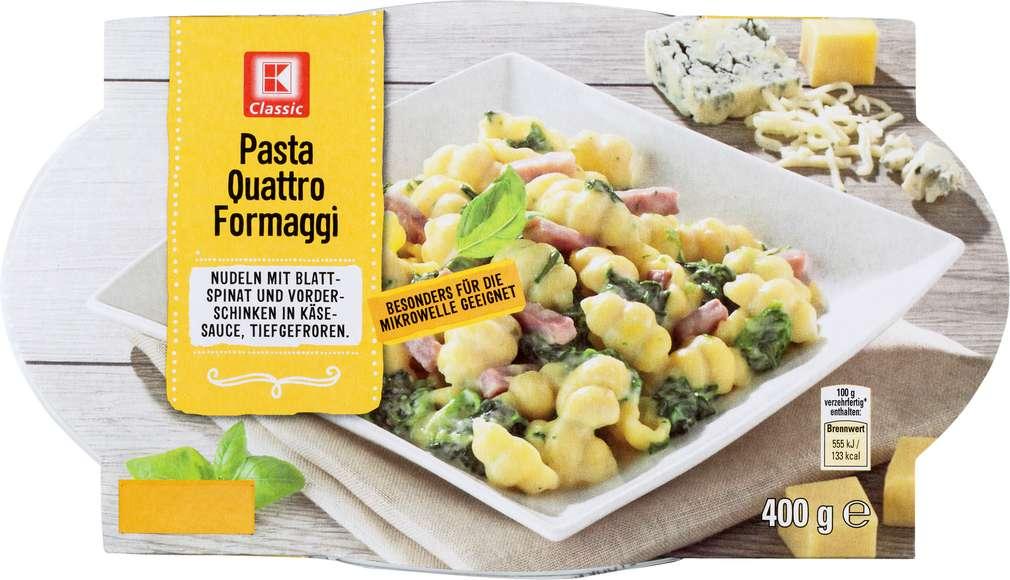 Abbildung des Sortimentsartikels K-Classic Pasta Quattro Formaggi tefgefroren 400g
