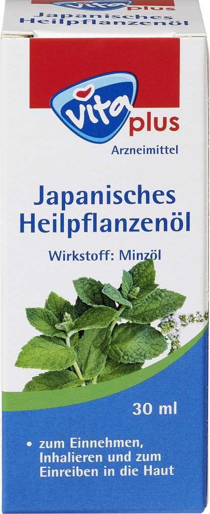 Abbildung des Sortimentsartikels Vita plus Japanisches Heilpflanzenöl 30ml