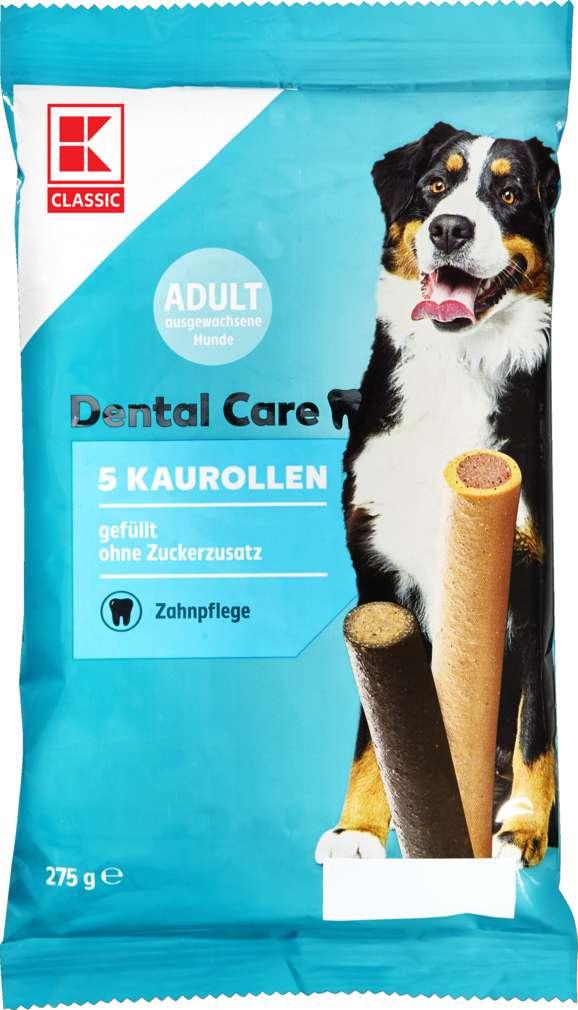Abbildung des Sortimentsartikels K-Classic Hundesnack Kaurollen gefüllt 5x55g