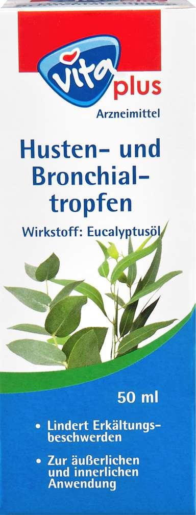 Abbildung des Sortimentsartikels Vita plus Husten und Bronchialtropfen 50ml