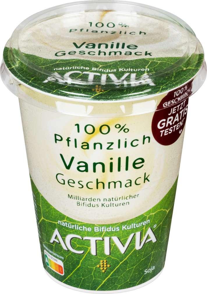 Abbildung des Sortimentsartikels Danone Activia Joghurt Vanille gf lf 400g