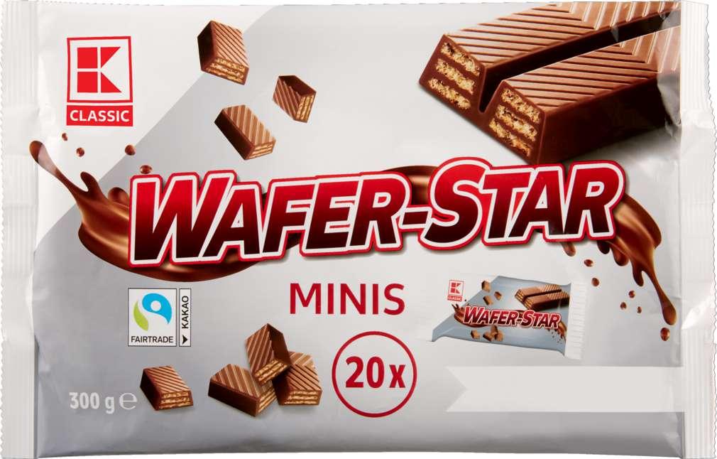 Abbildung des Sortimentsartikels K-Classic Wafer Star Minis 300g