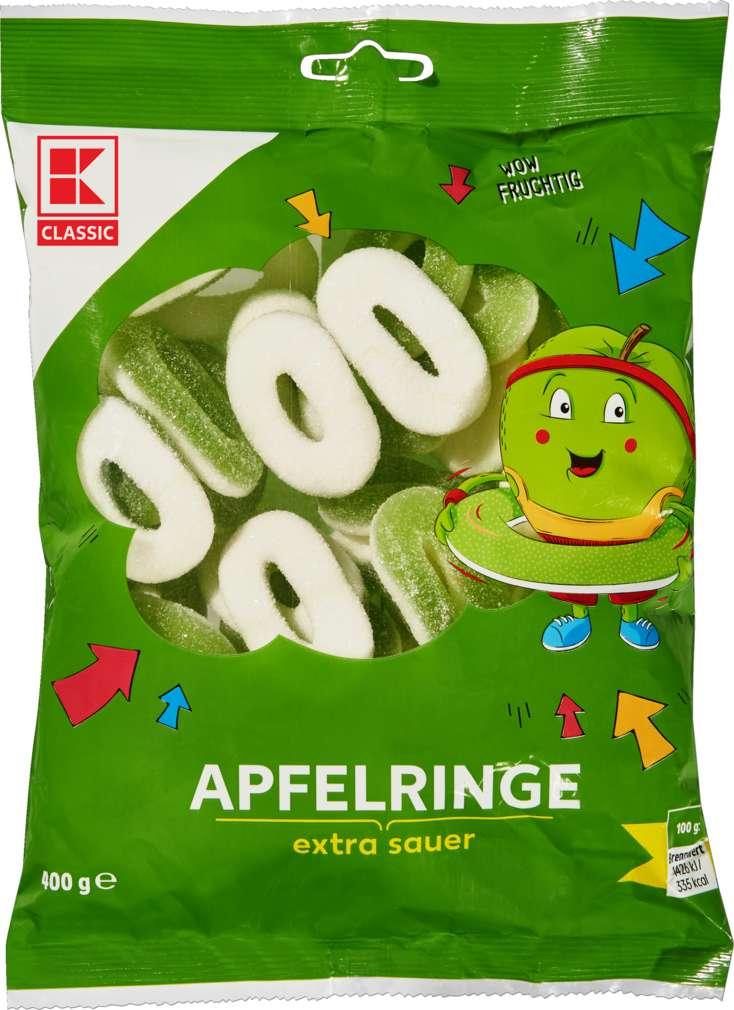 Abbildung des Sortimentsartikels K-Classic Apfelringe 400g