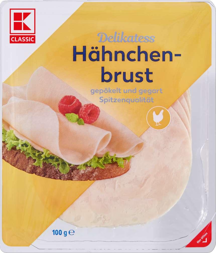 Abbildung des Sortimentsartikels K-Classic Hähnchenbrust 100g