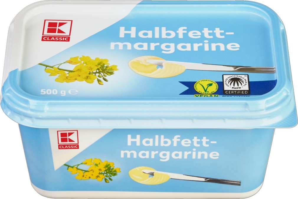 Abbildung des Sortimentsartikels K-Classic Halbfettmargarine 500g