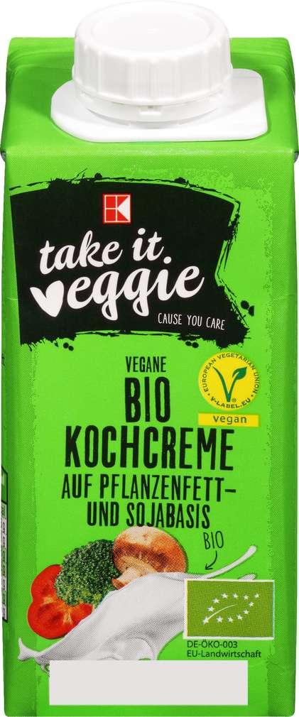 Abbildung des Sortimentsartikels K-Take it Veggie Vegane Bio Kochcreme 200ml