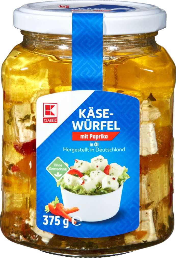 Abbildung des Sortimentsartikels K-Classic Hirtenkäse Öl/Paprika-Chili 375g