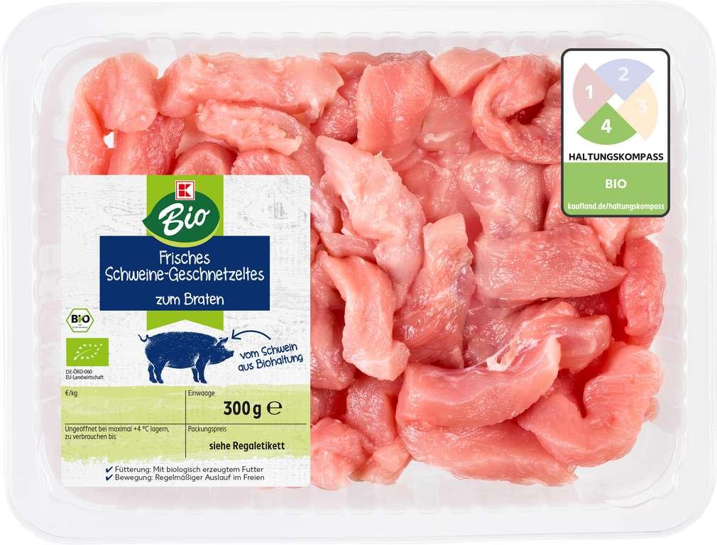Abbildung des Sortimentsartikels K-Bio Bio Geschnetzeltes vom Schwein 300g