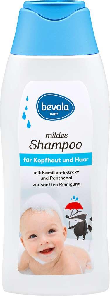 Abbildung des Sortimentsartikels Bevola Shampoo für Kopfhaut und Haar 250ml